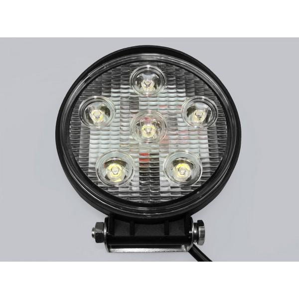 LED šviest.6x3W 12-24V 1100 Lm IP68 6000K