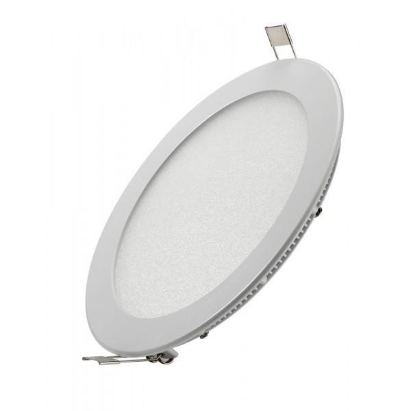 LED panelė15W /230VAC apvali 1200Lm 3000K įl.balta