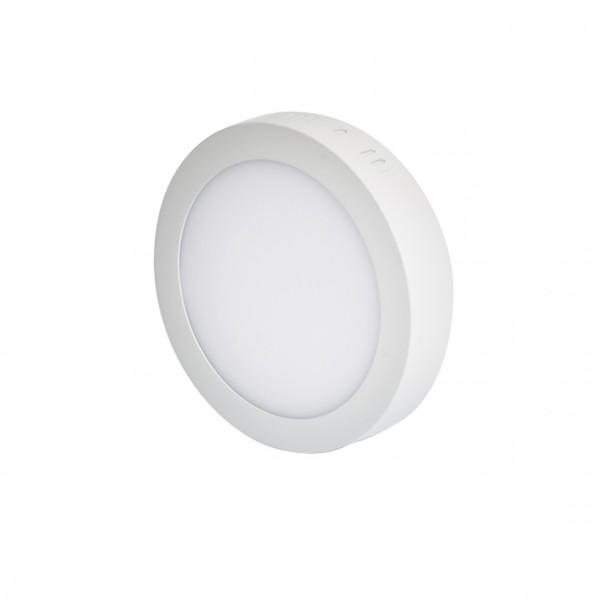 LED panelė 12W apvali,pridedama IP20,1250lm,3000K