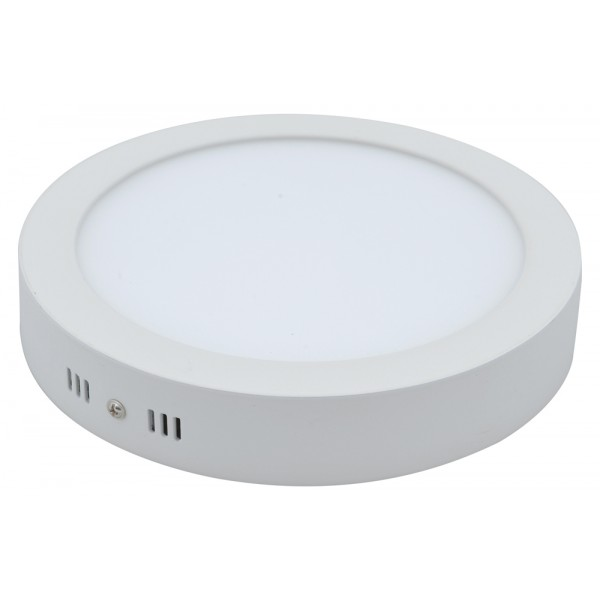 LED panelė 12W/3000K 230V apvali prid.IP20 D170mm