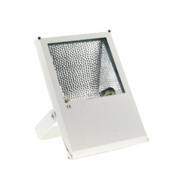 Prožektoriu HID 35W Rx7s IP44 AL sp., su lempa MH