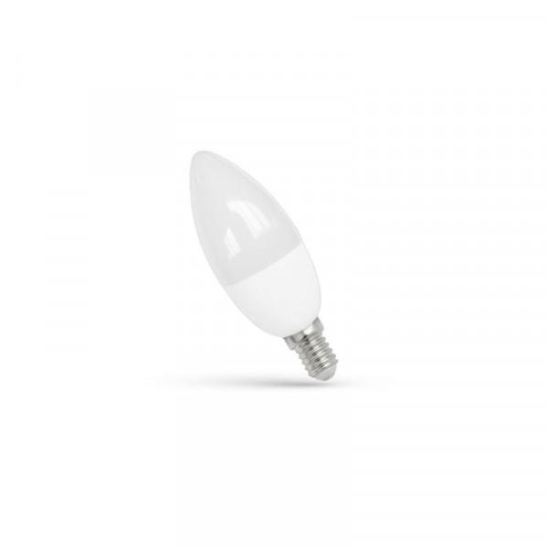 LED lempa  8W C37 230V/50HZ E14 3000K 750lm