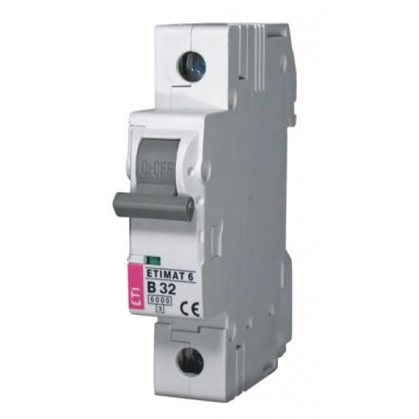 ETIMAT 1P  C 20A 6kA E1 automatinis išjungiklis