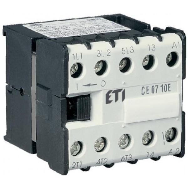 CE07.01- 230VAC minikontaktorius 3NA+1NU