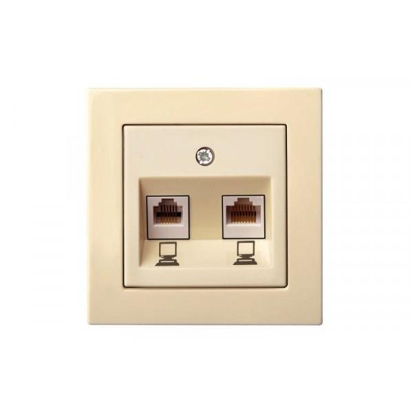 Lizdas IKL-002-01 L E/S,komp.2xRJ45,EPSILON