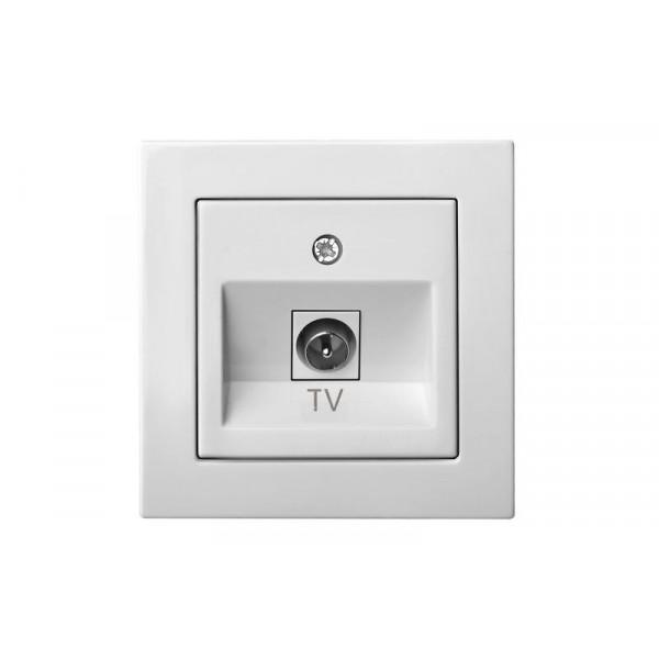 Lizdas ITVL-1-01 TV b/r L E/B balt EPSILON