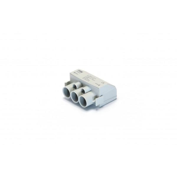 Gnybtas LPDB 1P 160A 4X50mm; 3x10mm Pilkas