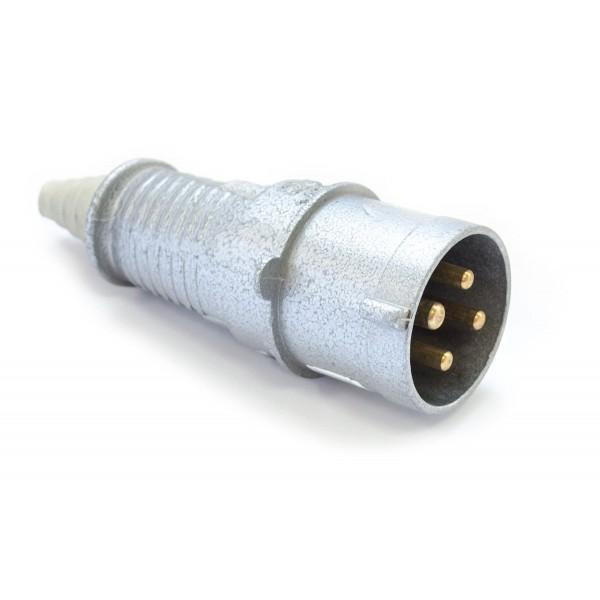Šakutė 4p 32A 3143-326 IP44 metalinė pernešama