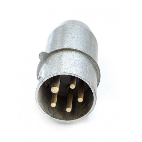 Šakutė 5p 16A  3121-326 IP44 metalinė pernešamas