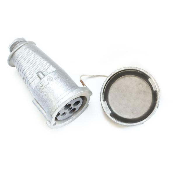 Lizdas 4p 32A 2144-337 IP67 metalinis pernešamas