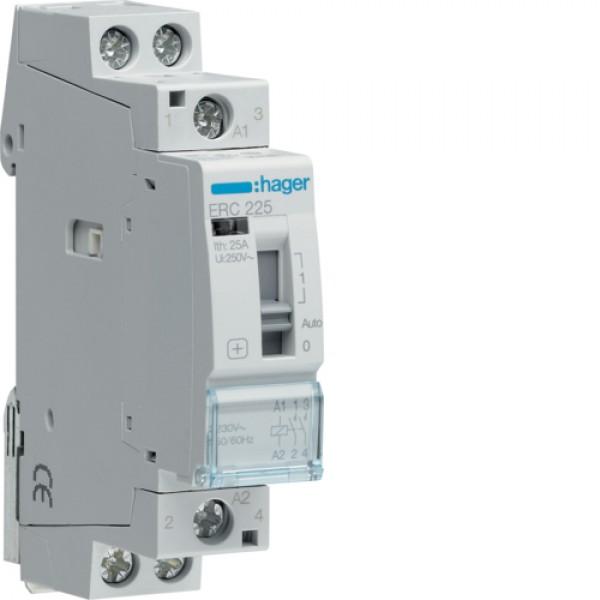 ERC225 kontaktorius mod. su rank. vald 230 V AC