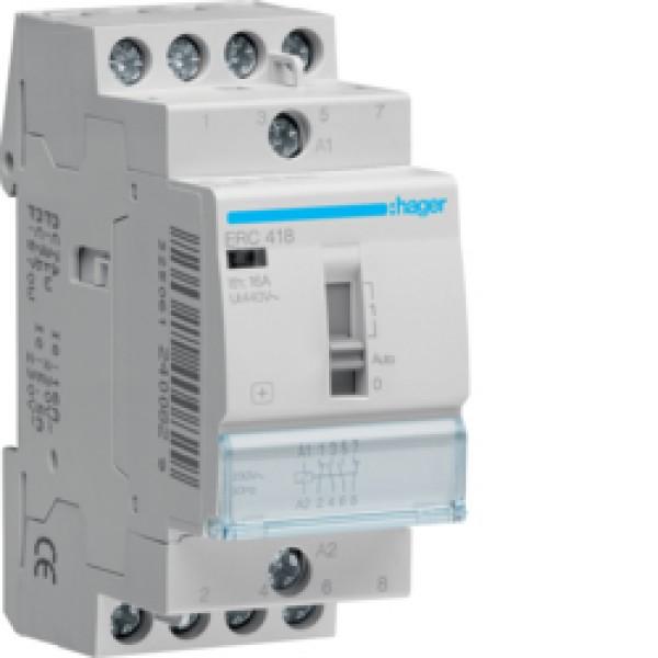 ERC418 kontaktorius 2NA+2NU 16A/230VAC