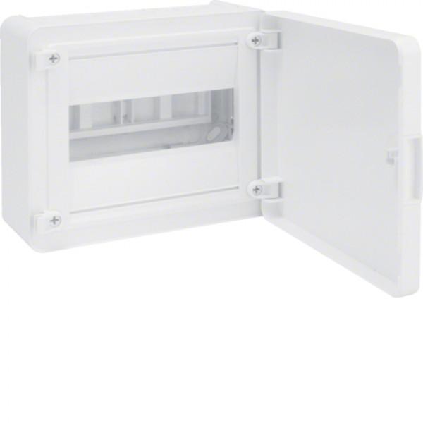 VS108PD skydelis 1x8 vt/baltom.durelėmis IP40