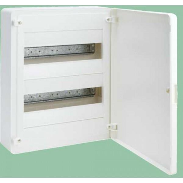 VS212PD skydelis 2x12 vt/baltom.durelėmis IP40