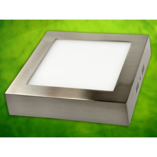 LED panelė 12W/230VAC kvadr.Rektus WW prid.Metalic