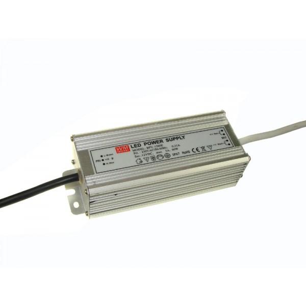 LED mait. Šaltinis 230/12VDC 60W IP67 Al.  1164