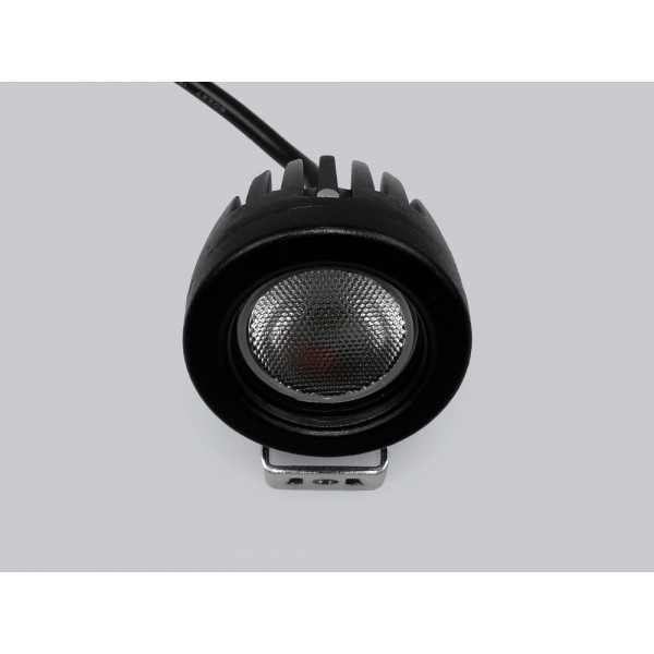 LED šviest.1x10W 12-36V 950Lm IP68 6000K