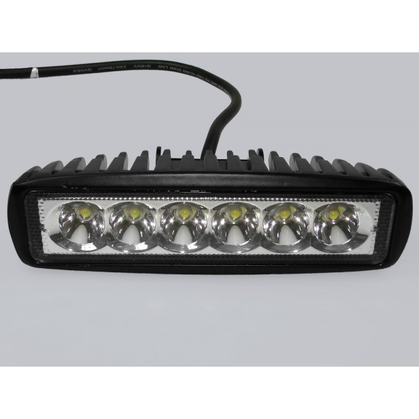 LED šviest.6x3W 12-36V 1150Lm IP68 6000K