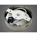 LED panelė  6W/230VAC apvali Winter WW prid.Metal