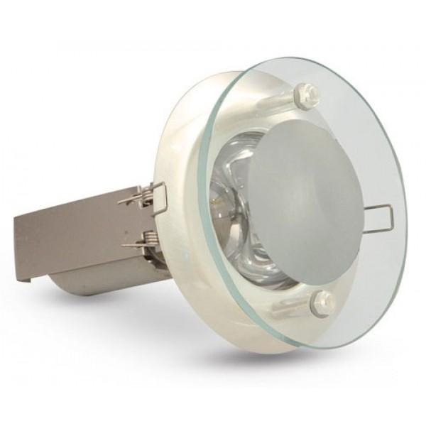 R-50SG šviestuvas 40W baltas ,E14, įleid.
