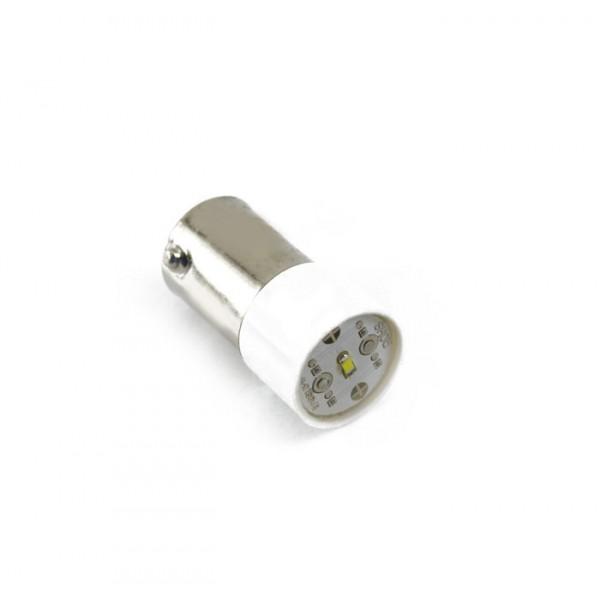 Indikacinė lemputė LED,BA9s-230V balta