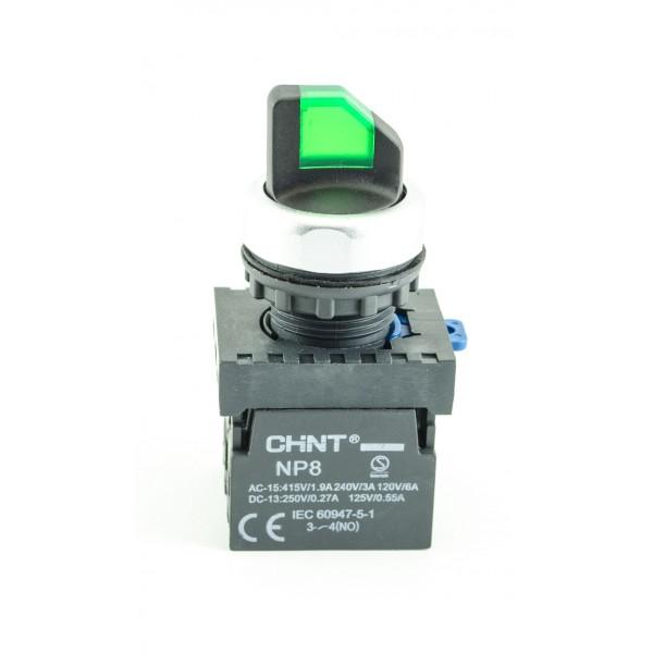 Perjungiklis (1-0-2) žalias ilium 2NO  CHINT NP8