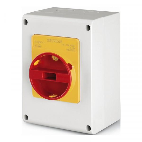 Kirtiklis 32A 3P 400V IP65 plast.dėz.590.EM3213