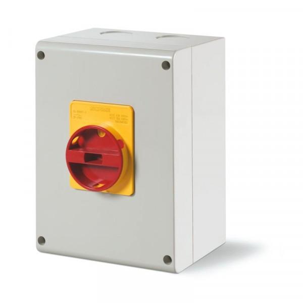 Kirtiklis 80A 3P 400V IP65 plast.dėz.590.EM8003