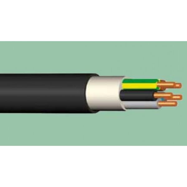 5x  4.0 CYKY /XPUJ kabelis 0.6/1kV juodas