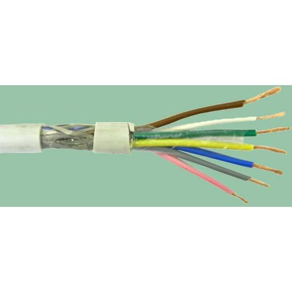 2x  1.0 LIYCY kabelis ELITRONIC-CY ekran.500V
