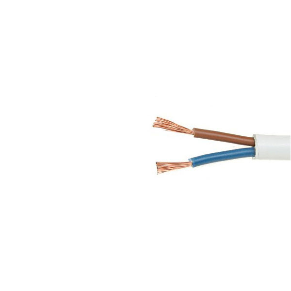 2x  0.75 OMY/HO3VV-F kabelis juodas