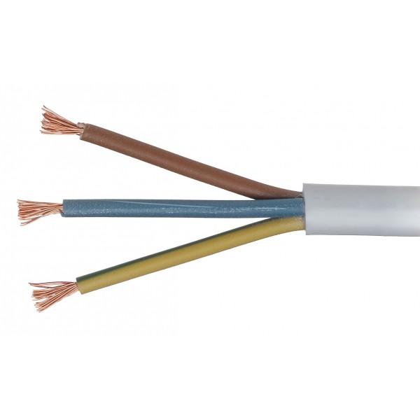 3x  2.5 OWY/H05VV-F kabelis