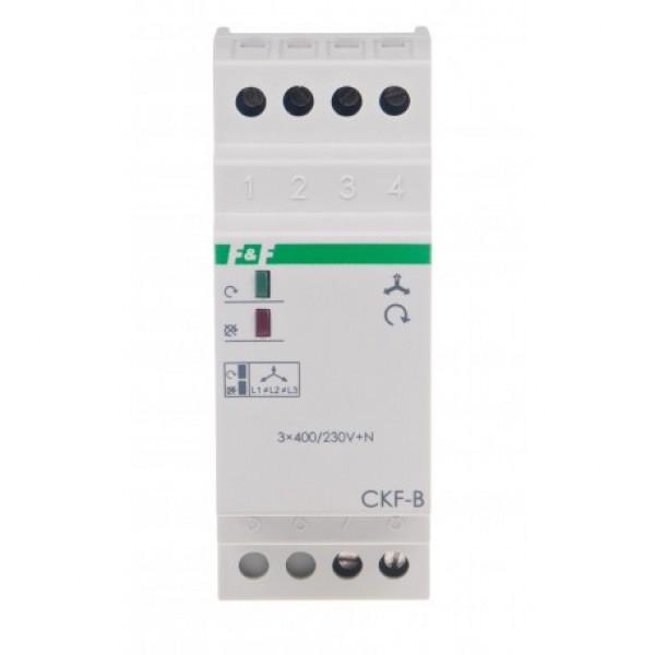 CKF-B fazių sekos ir įtampos kontrolės/DIN