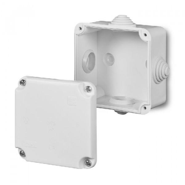 Dėžutė PK-0  5x2.5 mm'' 88x88x60   IP55 balta